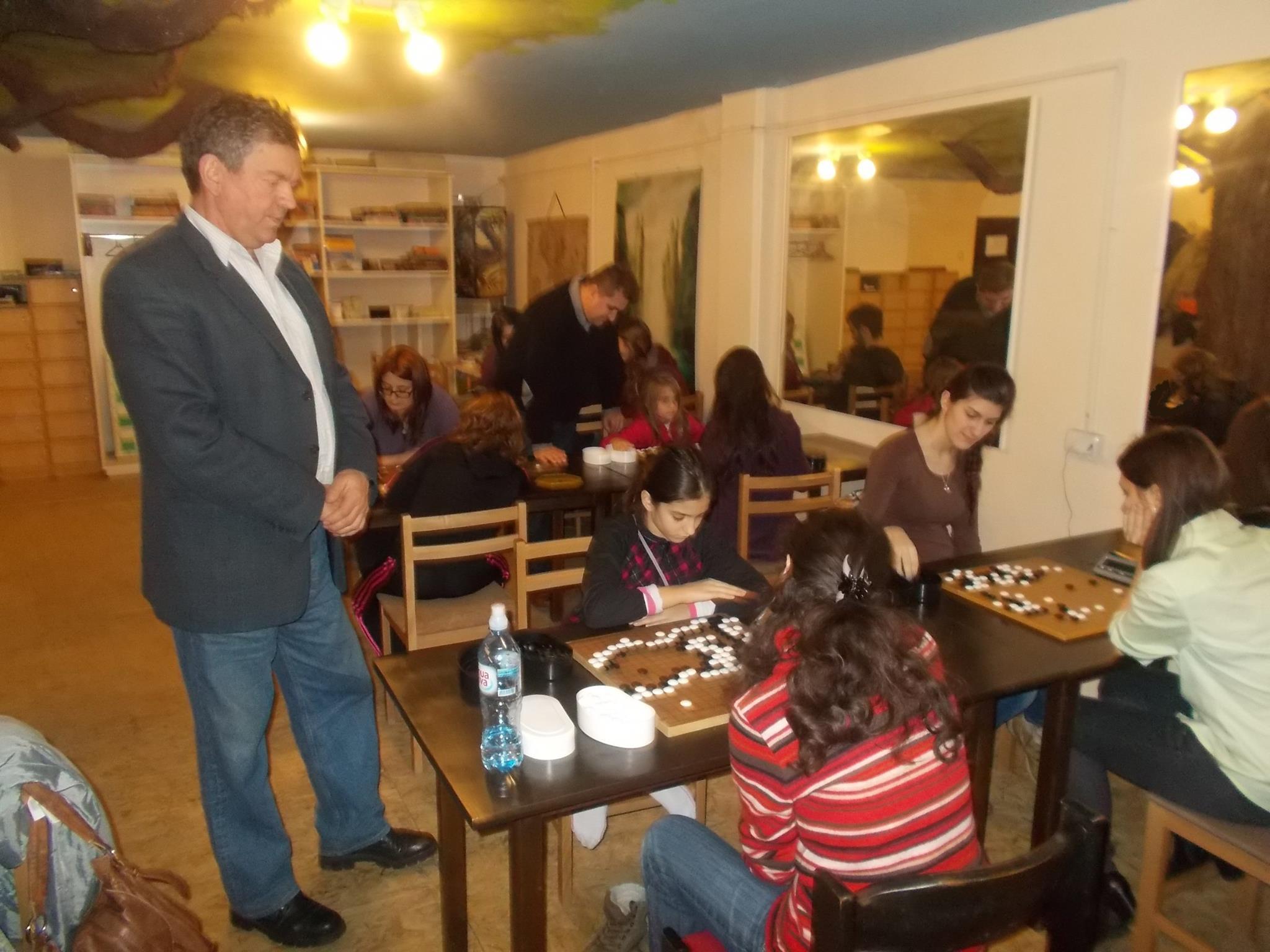 Željko Veselinović u poseti