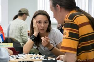 Nataša i Dragan analiziraju tek završenu partiju