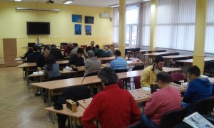 Detalj sa ekipnog prvenstva Srbije odigranog ove godine u Domu učenika srednje železničke škole