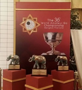 Nagrade za tri prvoplasirana goaša u Bangkoku